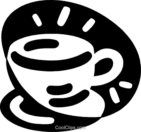 coffee cup Royalty Free Vector Clip Art illustration vc043963