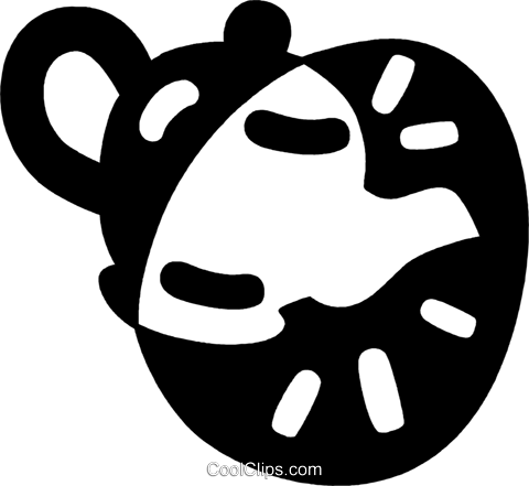 teapot Royalty Free Vector Clip Art illustration vc043994