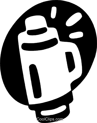 thermos Royalty Free Vector Clip Art illustration vc044042