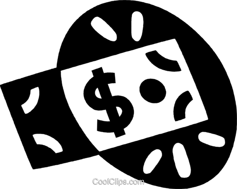 money Royalty Free Vector Clip Art illustration vc044074