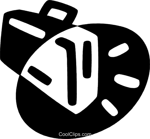 briefcase Royalty Free Vector Clip Art illustration vc044087