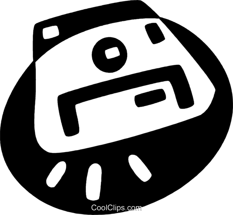 Diskette Royalty Free Vector Clip Art illustration vc044104