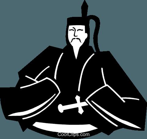 日本文化 免版税矢量剪贴画插图