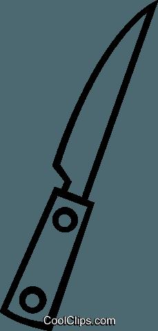 Küchenmesser clipart  Scharfes Messer Vektor Clipart Bild -vc048548-CoolCLIPS.com