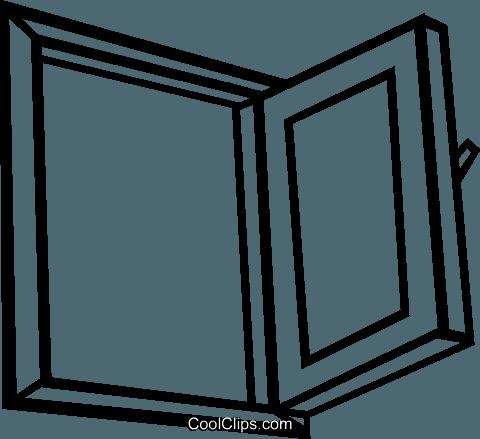 Ouvrir la fen tre vecteurs de stock et clip art vectoriel for Ouvrir la fenetre
