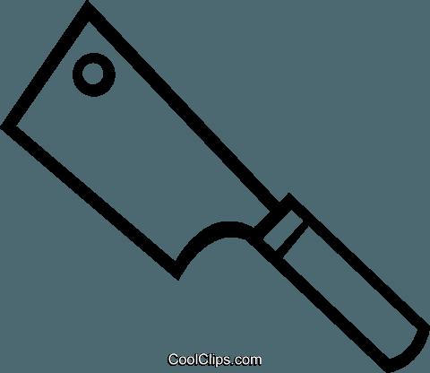 Küchenmesser clipart  Großer Beil Vektor Clipart Bild -vc048743-CoolCLIPS.com