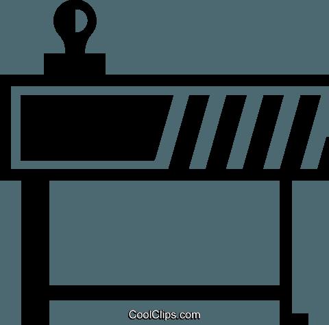 Bau Schranke Vektor Clipart Bild Vc046604 Coolclipscom