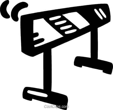 hurdle Royalty Free Vector Clip Art illustration vc046950