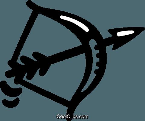 Pfeil Und Bogen Vektor Clipart Bild Vc046951 Coolclips Com