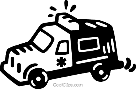 ambulance Royalty Free Vector Clip Art illustration vc047013