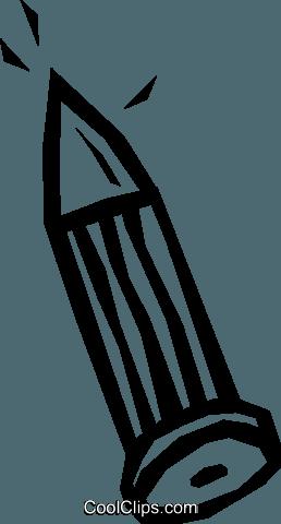 铁钉粘贴画-钉 免版税矢量剪贴画插图