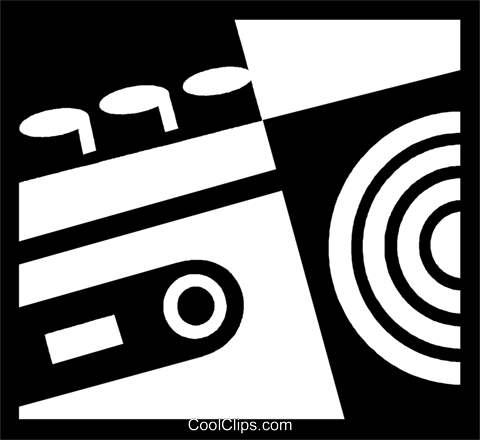 Cassette Tapes Royalty Free Vector Clip Art illustration vc050055