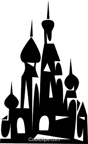 European Buildings Royalty Free Vector Clip Art illustration vc050345