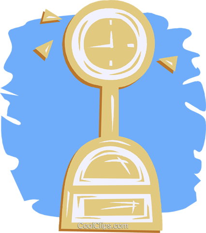 weight scale Royalty Free Vector Clip Art illustration vc052046