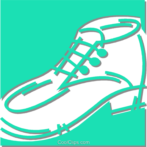 shoe Royalty Free Vector Clip Art illustration vc053042