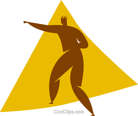 martial arts Royalty Free Vector Clip Art illustration vc056635