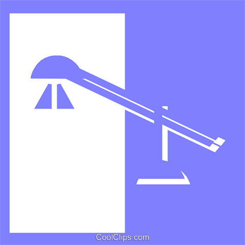 desk lamps Royalty Free Vector Clip Art illustration vc057062