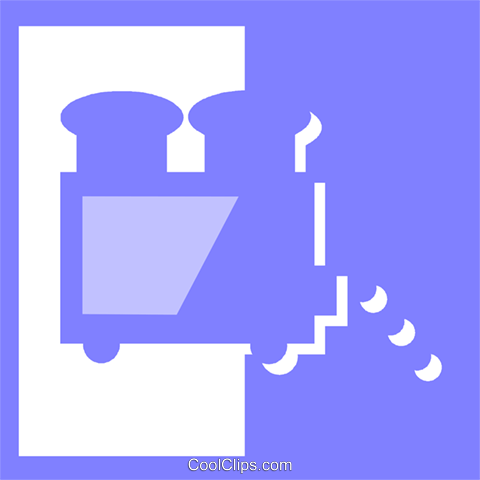 toaster Royalty Free Vector Clip Art illustration vc057279