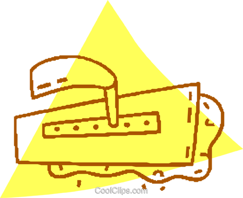cement spreader Royalty Free Vector Clip Art illustration vc059740