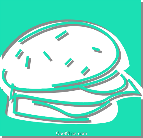hamburger Royalty Free Vector Clip Art illustration vc059875