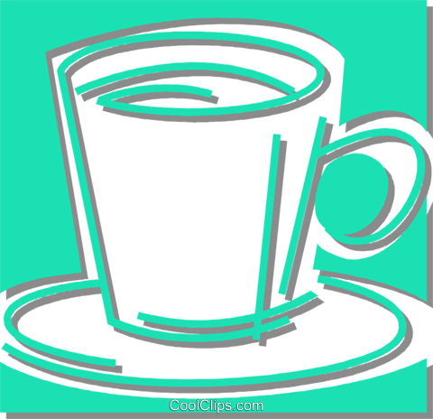 coffee cup Royalty Free Vector Clip Art illustration vc059876