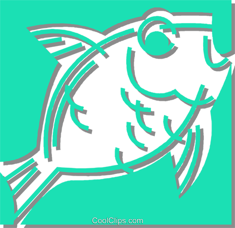 fish Royalty Free Vector Clip Art illustration vc059900