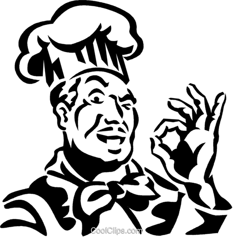 chef Royalty Free Vector Clip Art illustration vc059917