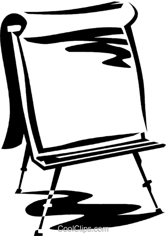 easel Royalty Free Vector Clip Art illustration vc059993