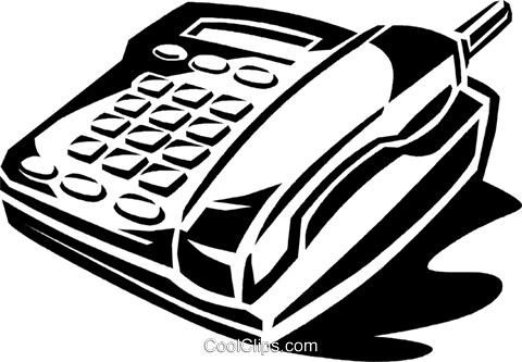 portable phone Royalty Free Vector Clip Art illustration vc060001