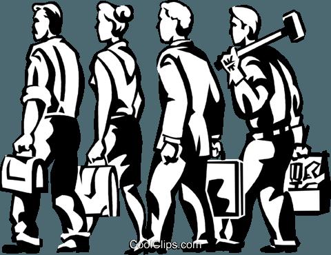 士 免版税矢量剪贴画插图