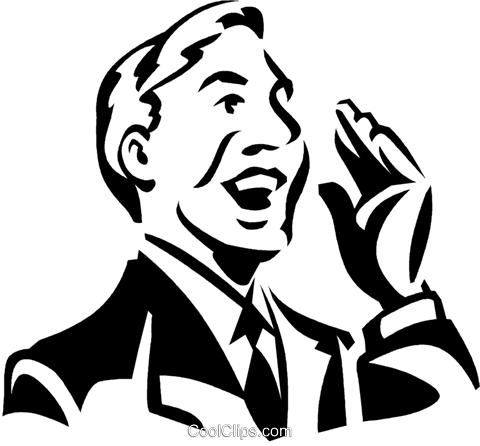 businessman Royalty Free Vector Clip Art illustration vc060045