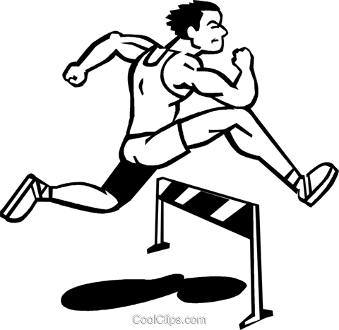 hurdles royalty free vector clip art illustration vc060090 rh search coolclips com Women's Hurdles huddle clip art
