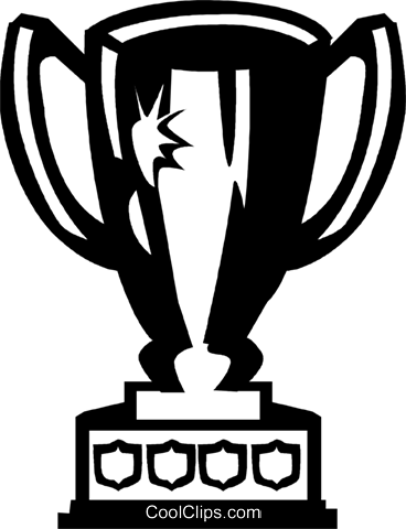 Trophies, Awards Winning Prize Royalty Free Vector Clip Art illustration vc060094
