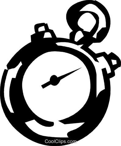 Stopwatches Royalty Free Vector Clip Art illustration vc060095