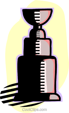 trophy Royalty Free Vector Clip Art illustration vc060198