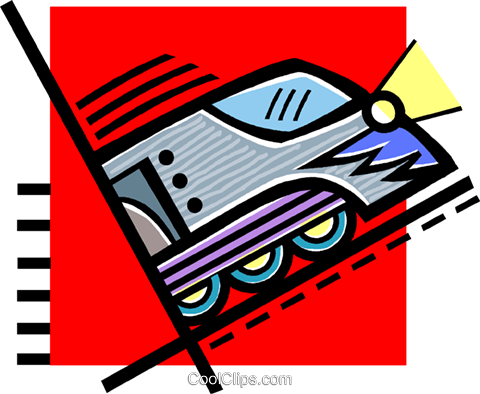 train Royalty Free Vector Clip Art illustration vc060203