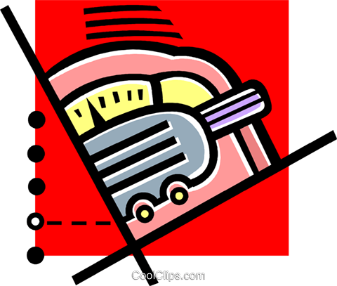 radio Royalty Free Vector Clip Art illustration vc060225