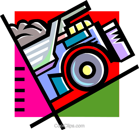 dump truck Royalty Free Vector Clip Art illustration vc060260