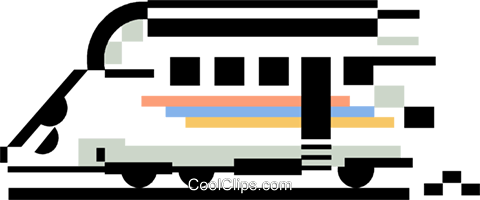 train Royalty Free Vector Clip Art illustration vc060384