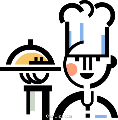 chef Royalty Free Vector Clip Art illustration vc060411