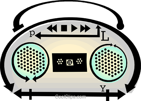 mini system Royalty Free Vector Clip Art illustration vc060448