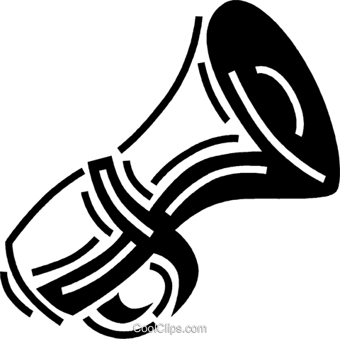 megaphone Royalty Free Vector Clip Art illustration vc060533