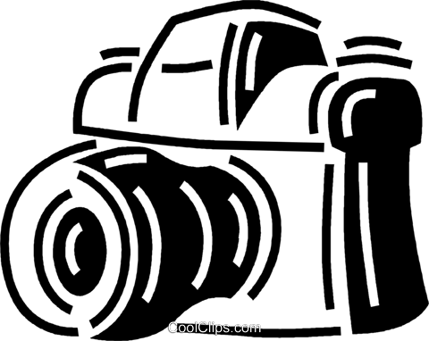 camera Royalty Free Vector Clip Art illustration vc060534