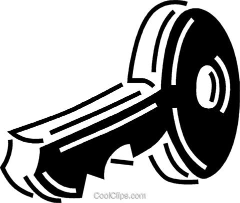 key Royalty Free Vector Clip Art illustration vc060545