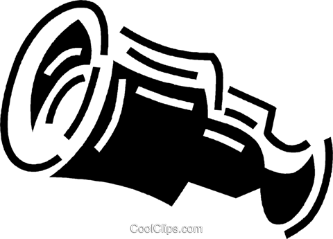 telescope Royalty Free Vector Clip Art illustration vc060559
