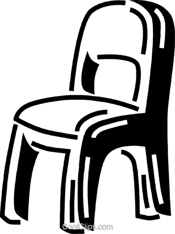 chair Royalty Free Vector Clip Art illustration vc060576