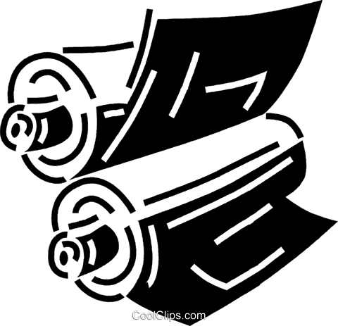 printing press Royalty Free Vector Clip Art illustration vc060652