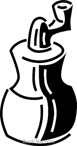 coffee grinder Royalty Free Vector Clip Art illustration vc060661
