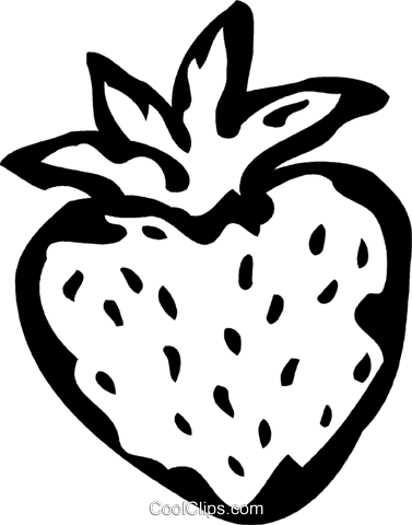 strawberry Royalty Free Vector Clip Art illustration vc060767