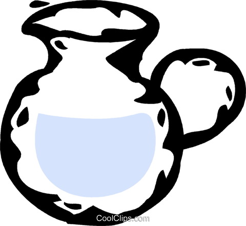 water jug Royalty Free Vector Clip Art illustration vc061022